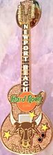 Hard Rock Cafe NEWPORT BEACH 2002 Horoscope Guitar Series PIN #2 TAURUS #11752