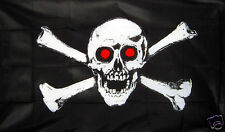 JOLLY ROGER SKULL PIRATE FLAG skull & crossbones BLACKBEARD 5X3
