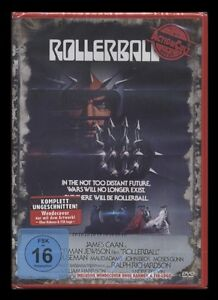 DVD ROLLERBALL - ACTION CULT - UNCUT - JAMES CAAN - Regie: NORMAN JEWISON * NEU