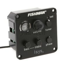 Fishman ISYS + Onboard Preamp Phase EQ Tuner Pickup for Acoustic Guitar