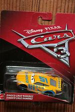 Mattel Disney Pixar Cars 3 Personnage voitures Jouets roue libre Die-cast