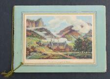 Catalogue dépliant GRANDE CHARTREUSE 1940 liqueur Voiron Isère