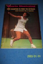 1971 Sports Illustrated WIMBLEDON Evonne GOOLAGONG No Label AUSTRALIA Outback
