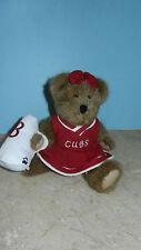 Boyds Bears ~ Trish Boombah ~ Light Brown Teddy Bear  with Tags Cheerleader