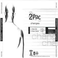 2Pac: Changes PROMO MUSIC AUDIO CD 2trk Edit Album Hip Hop Rap Tupac INT5P-6488