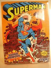 Sealed 1984 MPC Super Powers Superman.  Model# 1-1701.