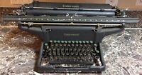 "Underwood ""Champion"" Model S Vintage Typewriter 1940 Rare Tested & Works 19"" Crg"