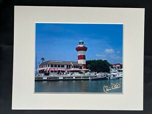 11 X 14 Matted Photo  - signed by photographer Marie Whitton- LIGHT HOUSE S.C.