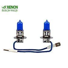 2x HALOGEN BULBS H3 XENCN 55W PK22s 12V XENON EFFECT WHITE 5300K E4 MAZDA