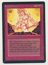 MTG Magic the Gathering Beta Fire Elemental *Light Play Condition A