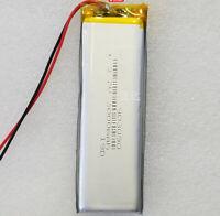 3.7V 3000 mAh Li-polymer Rechargeable Battery Li-ion for Bluetoth GPS PSP 903090