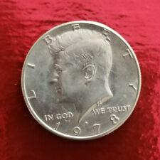 USA Liberty 1978-D Kennedy Half Dollar coin collectible coin