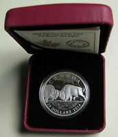 2014 Proof $20 The Bison #2-The Fight Canada .9999 silver twenty dollars