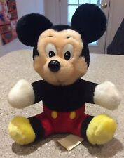 New listing Vintage Disneyland Mickey Mouse Plush Doll Stuffed Toy Walt Disney World