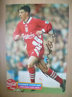 Original Hand Signed Press Cutting- ROBBIE FOWLER, Liverpool FC (appx. A4 )