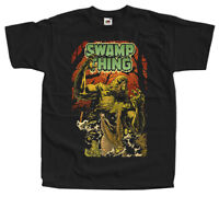 Swamp Thing V4 Movie BLACK T SHIRT ALL SIZES S-5XL Louis Jourdan Ray Wise