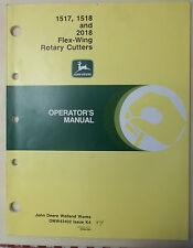 John Deere Operator's  Manual Rotary Cutter  609 #64001 & #65001-,BUSH BRUSH HOG