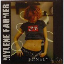 MYLENE FARMER LONELY LISA LTD CD MAXI REMIXES 1