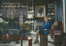 Coupure de presse Clipping 2012 Hélène Rochas le parfum de luxe  (6 pages)