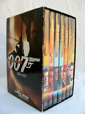 THE JAMES BOND COLLECTION..SPECIAL EDITION..007 DVD..7 PACK..MINT