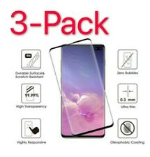 3x Full Cover Tempered Glass Screen Protector Samsung Galaxy S10 Plus/N10+/S10e