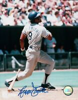 Reggie Smith Signed 8X10 Photo Autograph LA Dodgers Power Swing Low Auto COA