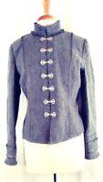 Laundromat Chelsea  Full Zip Sweater Jacket 100/% Wool Fleece Lined  $168 NEW
