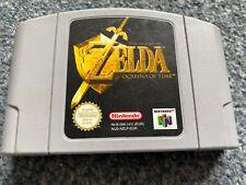 The Legend Of Zelda Ocarina Of Time Nintendo 64 Cartridge Free UK Post.
