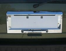 03 -05 Hummer H2 CHROME REAR LICENSE AREA COVER tailgate plate