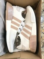 adidas Originals NMD_R1 W BOOST White Ash Pearl Women Shoes #FV2475 SIZE 10