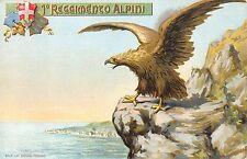 A1703) 1 REGGIMENTO ALPINI, BIPARTITA AL VERSO.