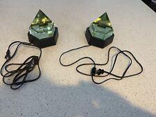 Lot Of 2- Mystic Seaport Deck Prism Lights Underwriters Laboratories Euc