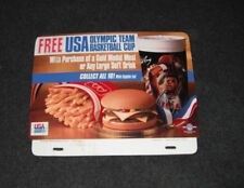 Patrick Ewing 1992 McDonald's Unused Register Topper Super Size Olympic Cups