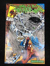 Amazing Spider-Man #328 (Marvel 1990) Gray Hulk McFarlane (8.5 VF+)