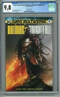 Tales from the Dark Multiverse Batman Knightfall 1 CGC 9.8 Mattina Variant Cover