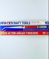 New Tamiya 74103 Craft Tools HG Reverse Action Straight Tweezers Japan
