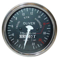 Oliver Tractor Tachometer for 55 SUPER,Gas/Diesel 66 RC SUPER, 77 RC ,550