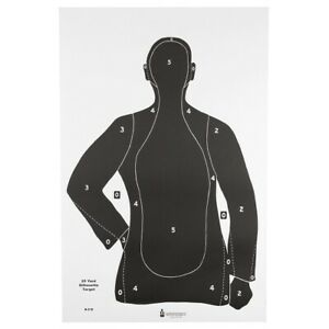 """LE Silhouette Targets 35/"""" x 45/"""" B21X 100 targets Official NRA B-21X"""