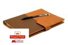 Waterproof Reusable Smart Notebook Planner Organiser A5 PU Leather Hot Erasable