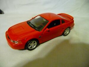 1/43 Welly 1999 Ford Mustang Red No. 9753