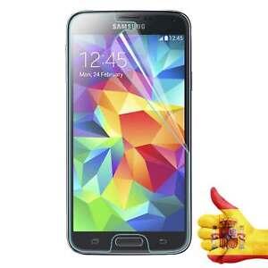 Protector Pantalla Mate Anti-Huellas para Samsung Galaxy S5 i9600 i9605.