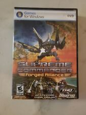 Supreme Commander FORGED ALLIANCE Games for Windows PC