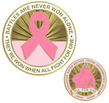 Breast Cancer Awareness Challenge Coin