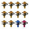 New 10x Motorcycle 6mm M6 Fairing Bolts Spire Speed Fastener Clips Spring Nuts