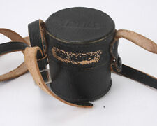 YASHICA CASE FOR LENS, ROUGHLY 62MM X 65MM, WITH STRAP/190060