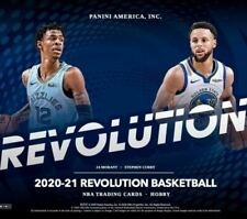 2020-21 PANINI REVOLUTION BASKETBALL 8-BOX 1/2 CASE PYT BREAK #1 *DISCOUNTED*