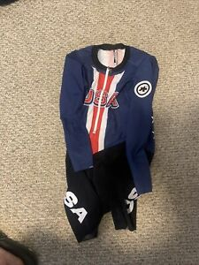 Assos Long Sleeve LG  Skinsuit Team USA