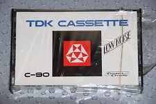 TDK  VINTAGE LO NOISE  C-90    BLANK CASSETTE TAPE  (1) (SEALED)