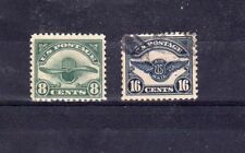 Used Air Mail United States Stamps