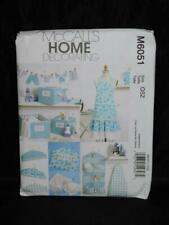 McCalls 6051 Home Crafts Sewing Pattern Apron Covers Bins Organizer Caddy Banner
